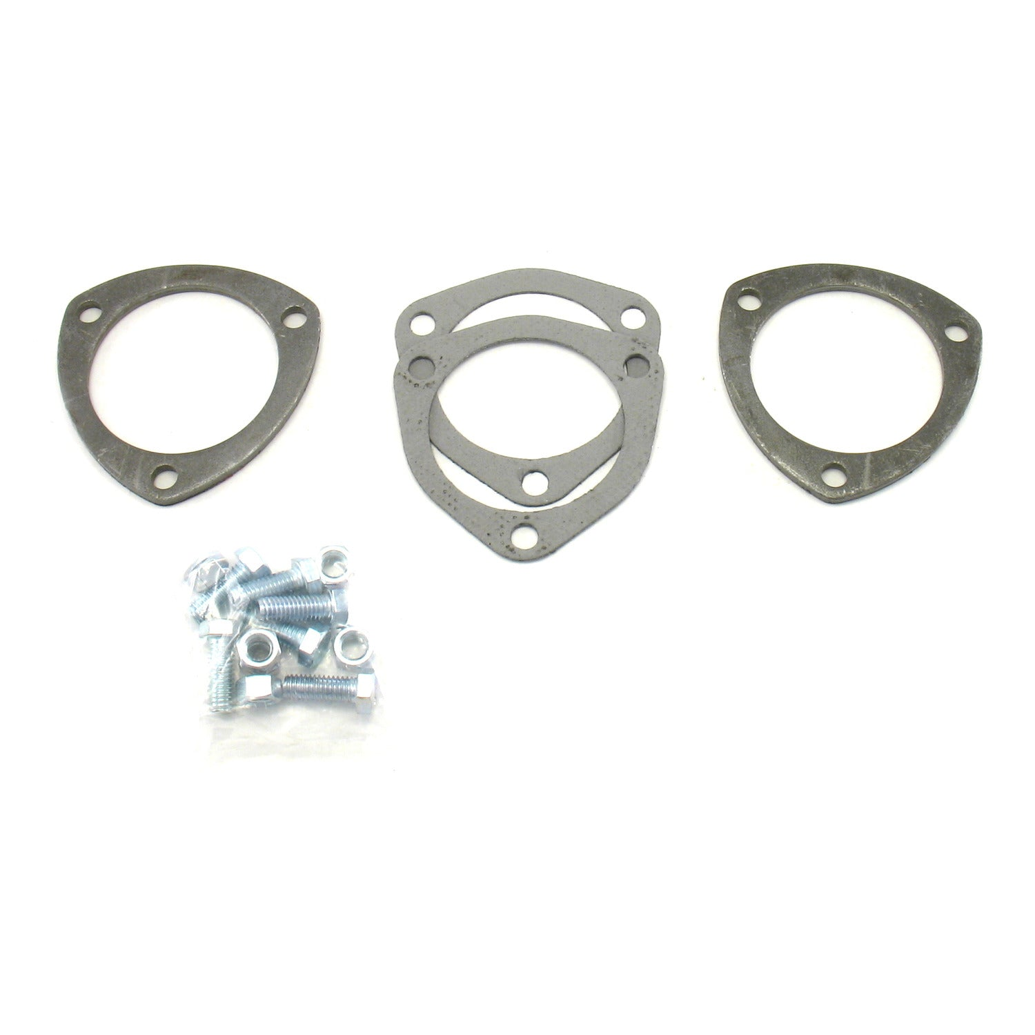 "Patriot Exhaust H7260 3-bolt 3"" diameter Collector Flange Kits"