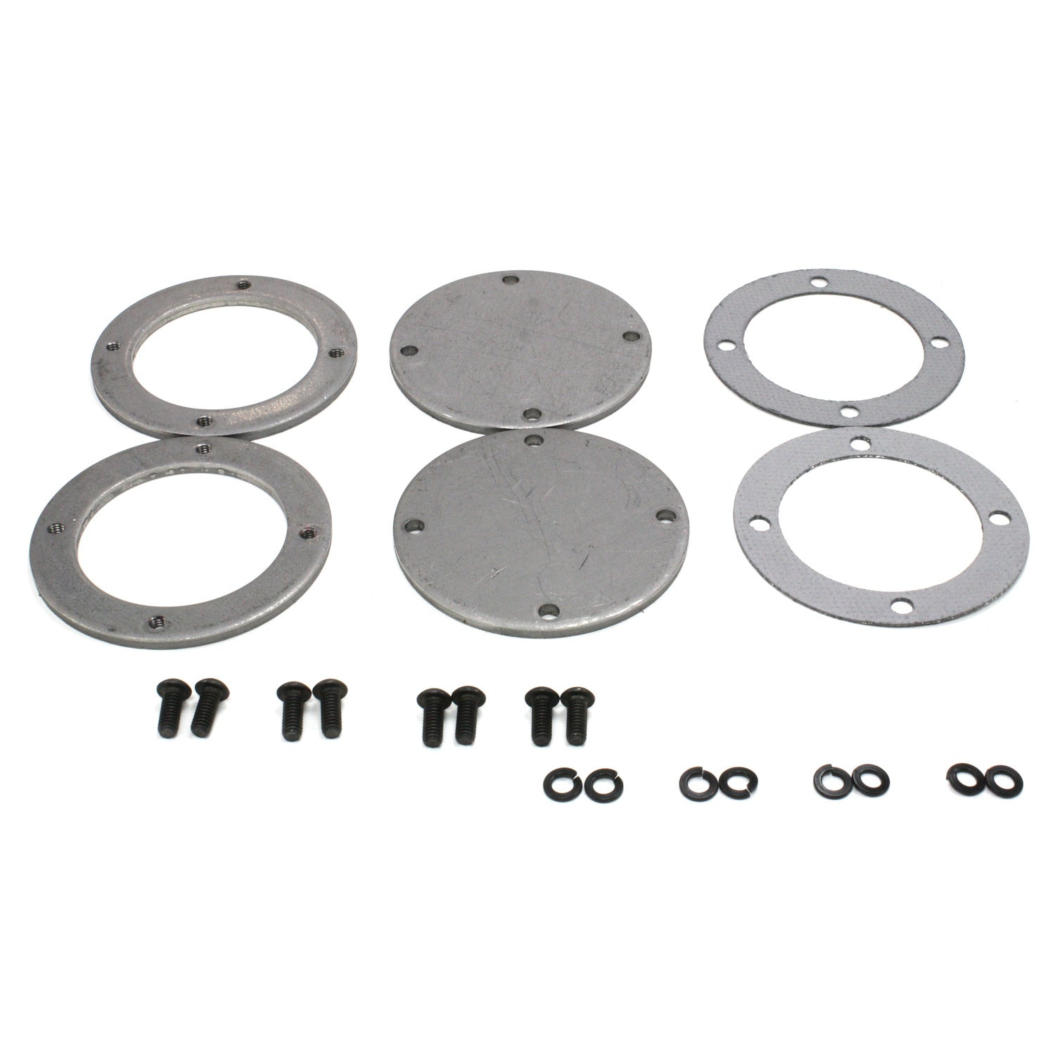 Patriot Exhaust H7266 Collector Flange Kit 4 Bolt Round 3 1/2""