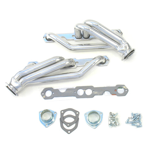 "Patriot Exhaust H8036-1 1 1/2"" Clippster Header Chevrolet S-10 Small Block Chevrolet 82-95 Metallic Ceramic Coating"