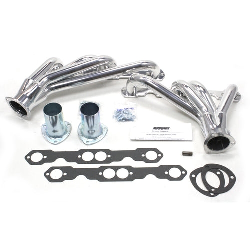 "Patriot Exhaust H8068-1 1 5/8"" Clippster Header Chevrolet Camaro Small Block Chevrolet 82-92 Metallic Ceramic Coating"
