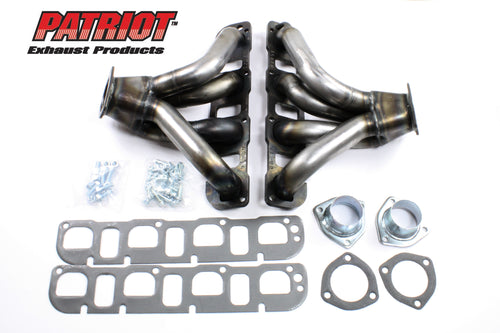 "Patriot Exhaust H8201 1 3/4"" Tight Tuck Header Mopar Street Rod 5.7/6.1 Hemi Universal Raw Steel"