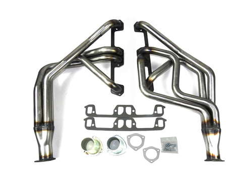 "Patriot Exhaust H8211 1 5/8"" Full Length Header Dodge 1/2, 3/4 Ton PU 2WD & 4WD 1972-93  Ramcharger/Trailduster 1974-93 318-360 Raw Steel"