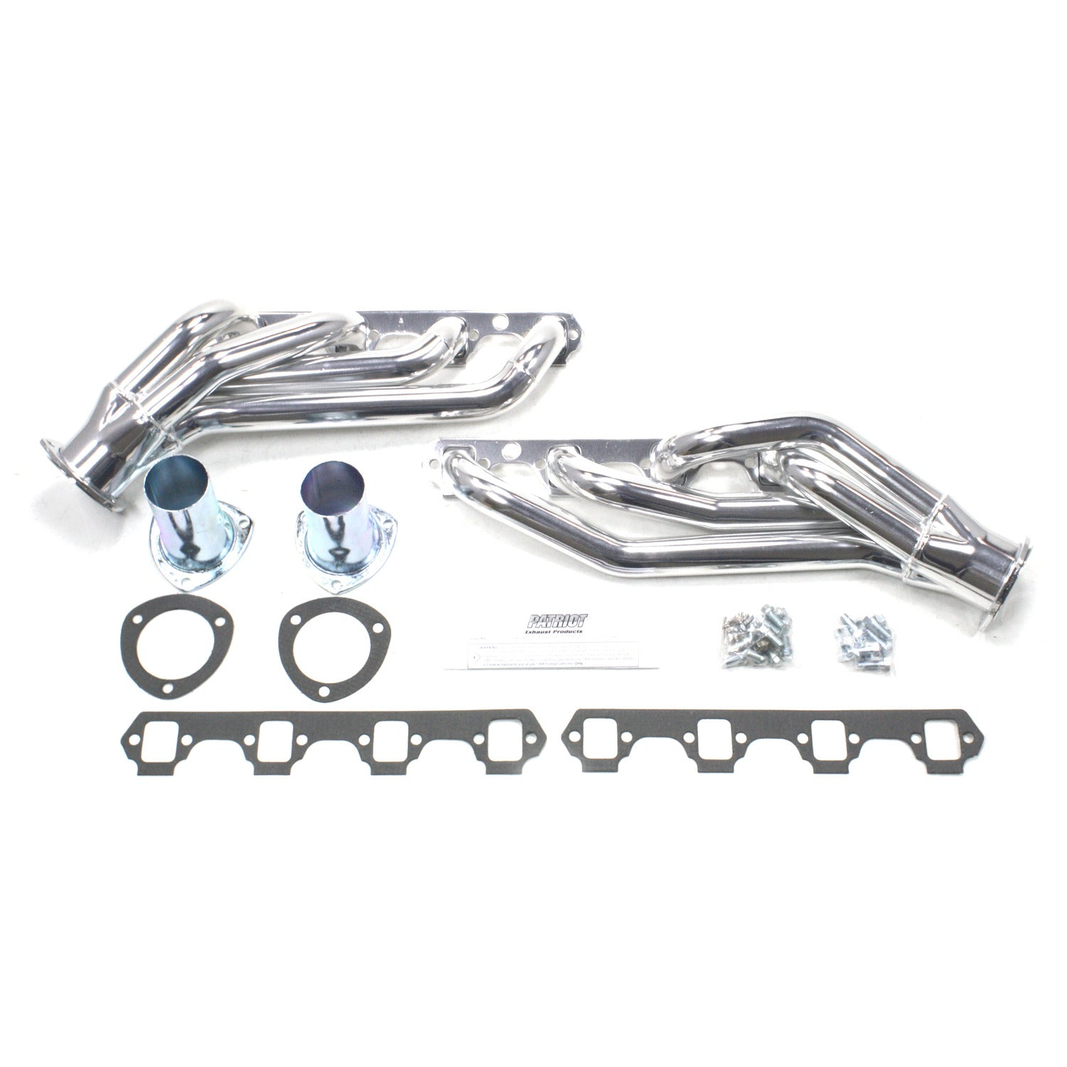 "Patriot Exhaust H8433-1 1 5/8"" Clippster Header Ford Mustang Small Block Ford 64-73 Metallic Ceramic Coating"