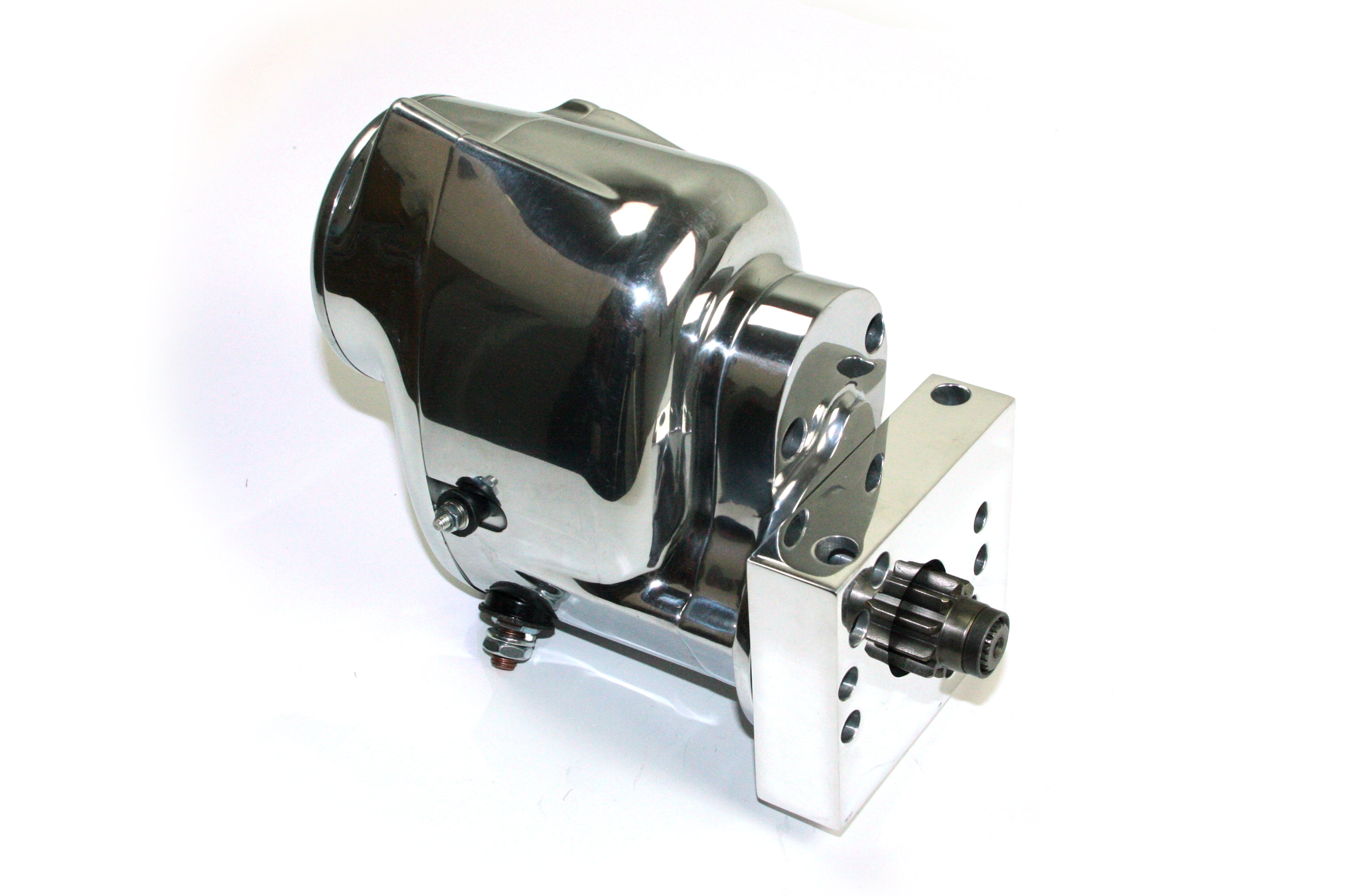 Pertronix part number S3002P-M Contour Marine Starter GM LS engines with polished finish