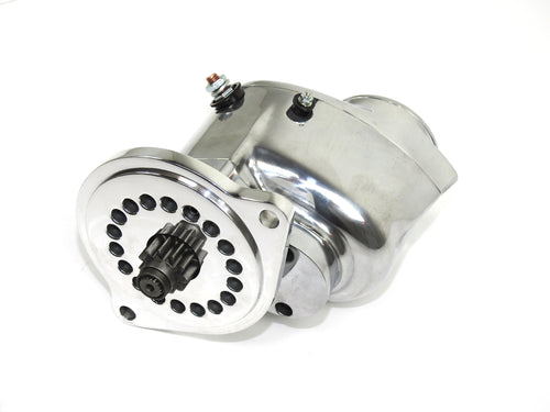 "Pertronix part number S3004P-M Contour Marine Starter Most  Ford 302/351 with 157T or 164T flywheel, 3/4"" offset, CW rotation polished"