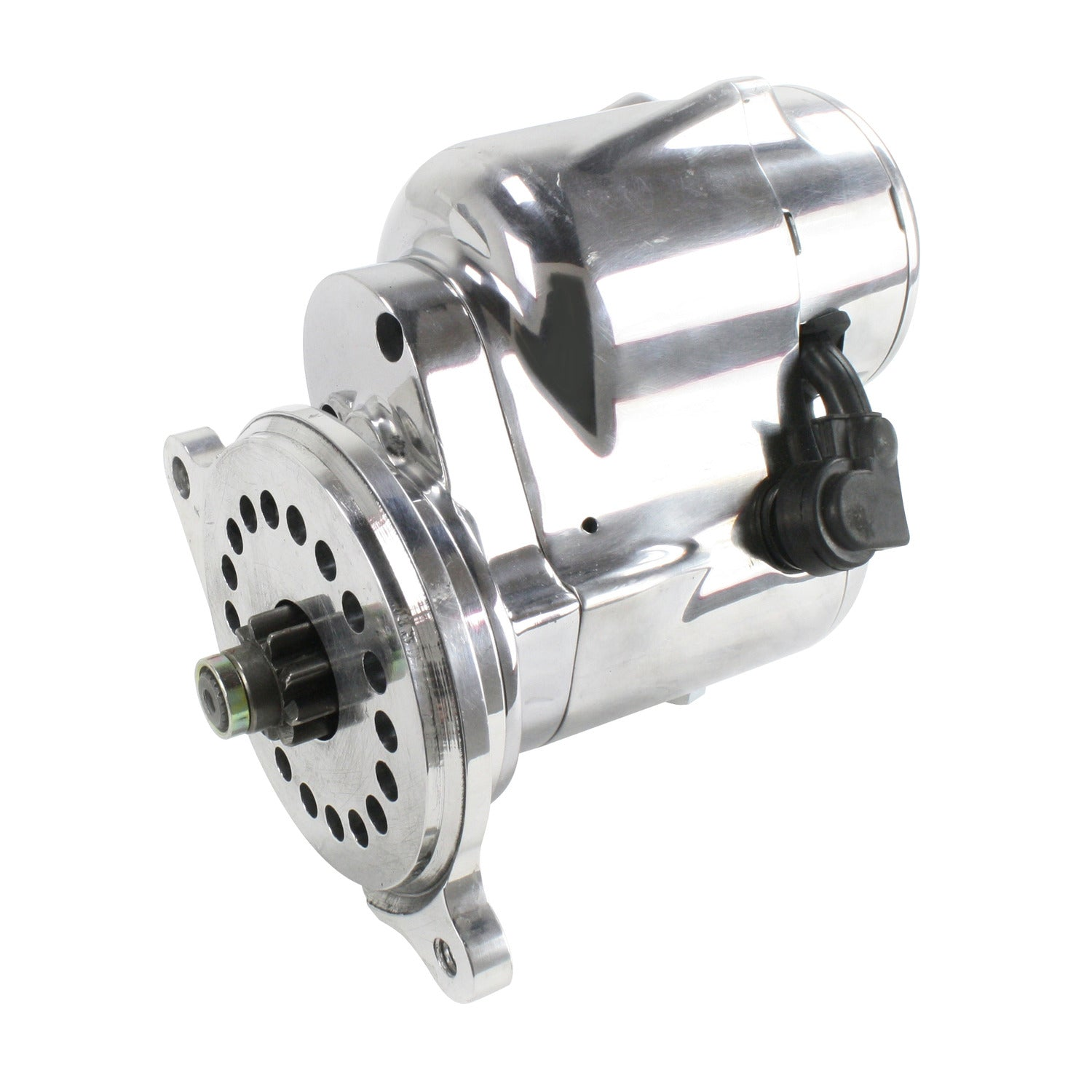 "Pertronix part number S3004P Contour Starter Ford 1963-2001 221-302/5.0L, 351W and 351C with automatic and 5 speed manual trans (157T or 164T flywheel), 3/4"" offset polished"
