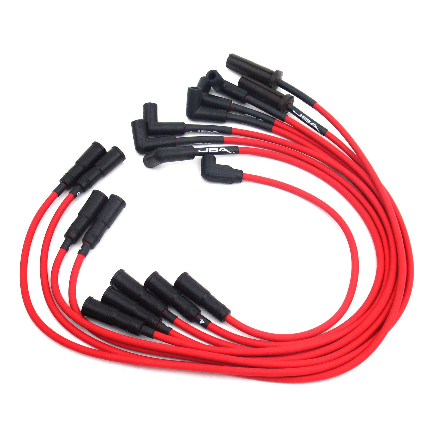 JBA Performance Exhaust W0815 Ignition Wires 92-96 Corvette 5.7L LT1 Red