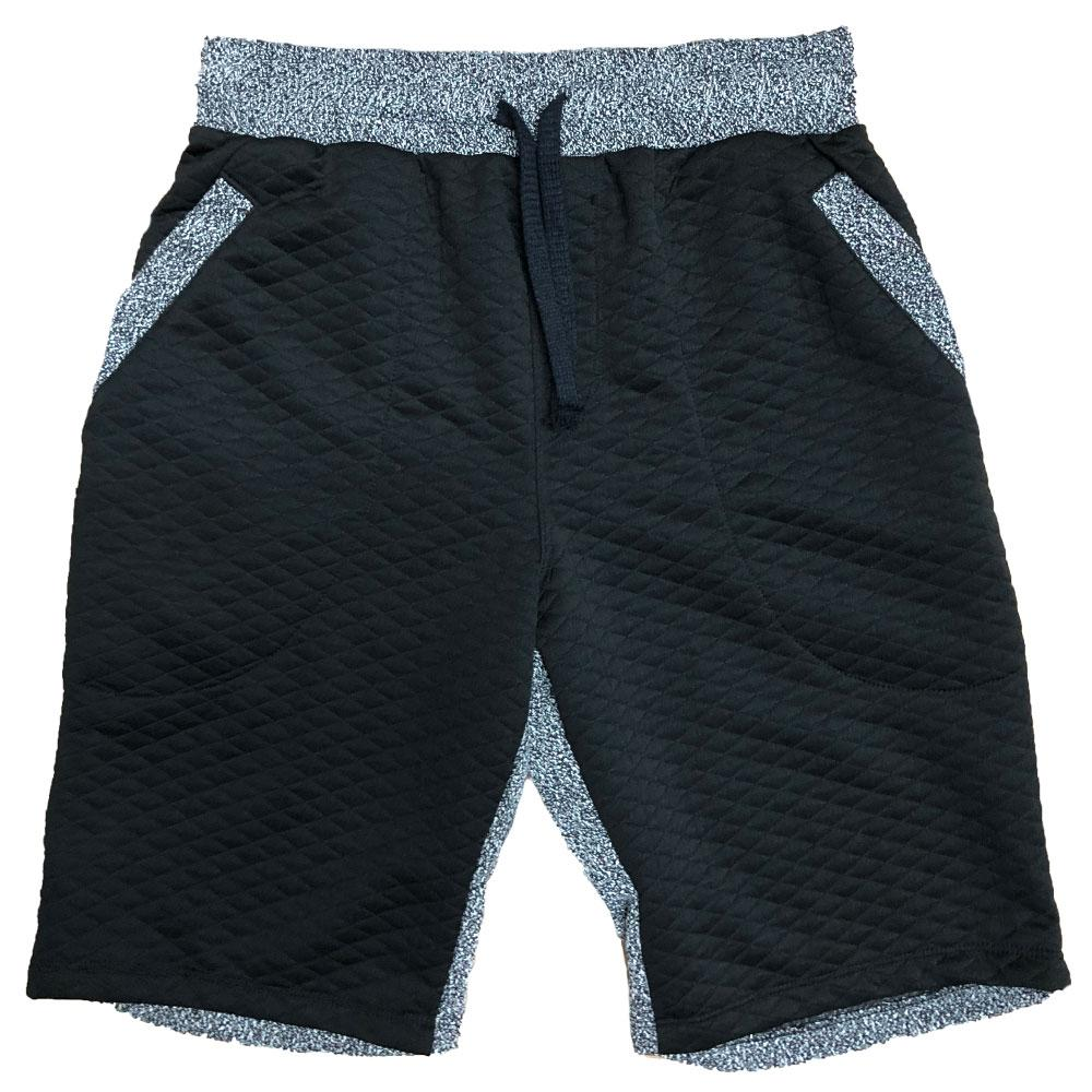 Black Contrast Shorts-AcDrift