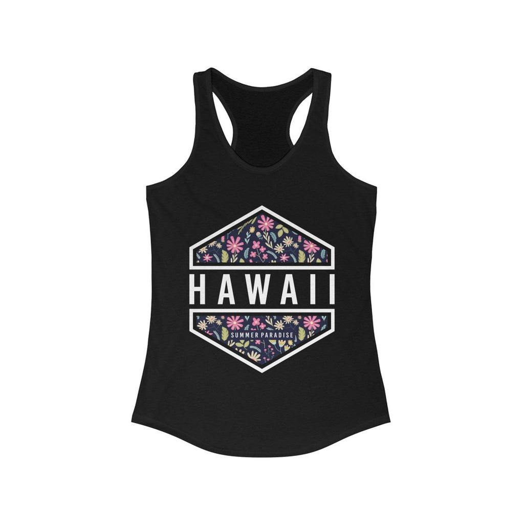 Hawaii Vacation Paradise Racerback Tank Top-AcDrift