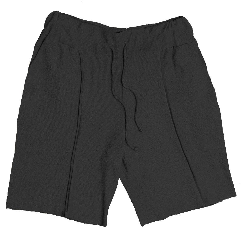 FRENCH TERRY SHORTS- CHARCOAL-AcDrift