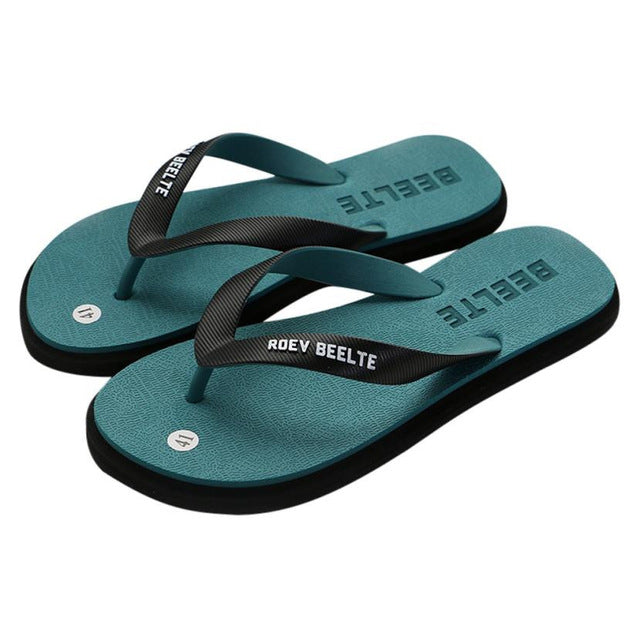 Men Man Flip Flops 2018 Fashion Outdoors Flat Heel-AcDrift