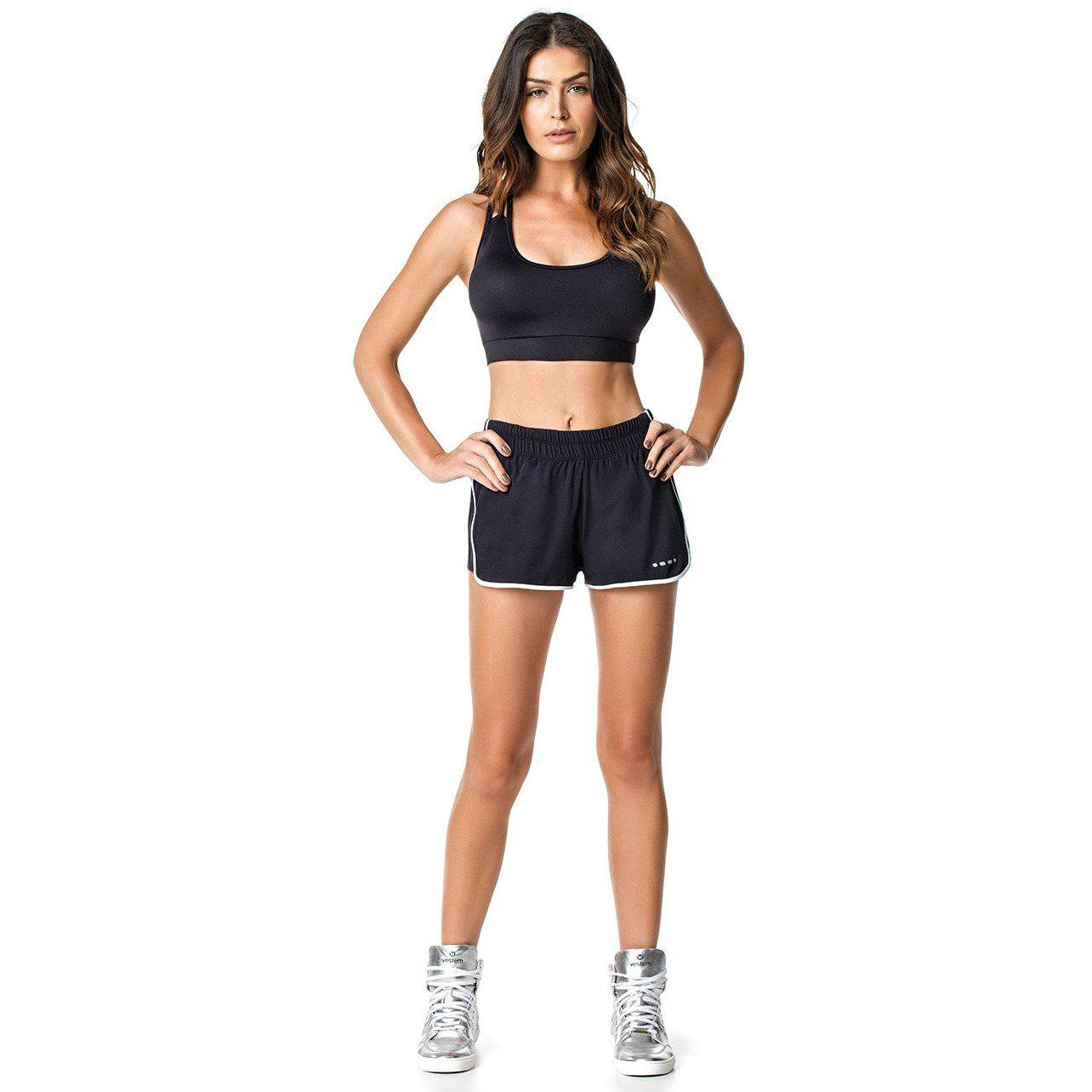 SHORTS 116 DELAVIGNE BLACK-AcDrift