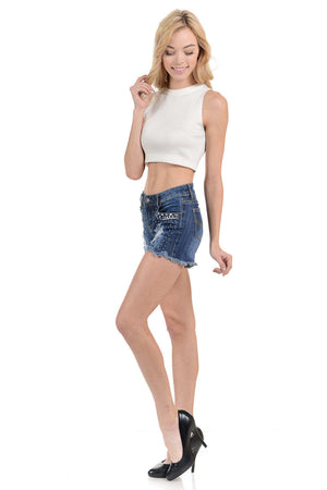 Sweet Look Women's Shorts - Style WG0111-R-AcDrift