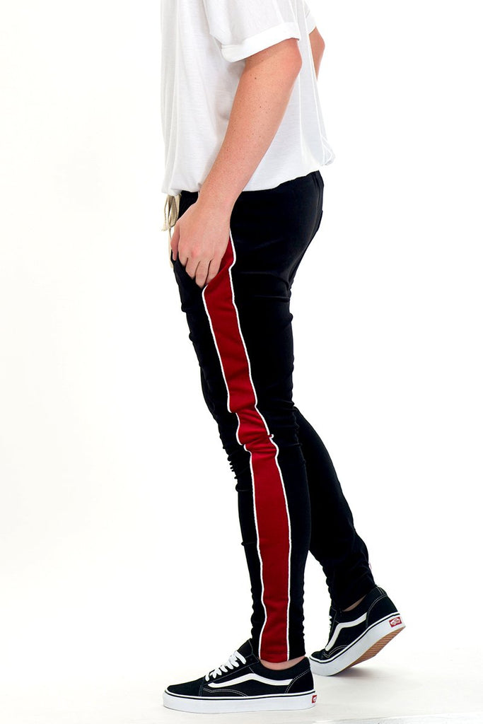 VELVET PANTS - BLACK-AcDrift
