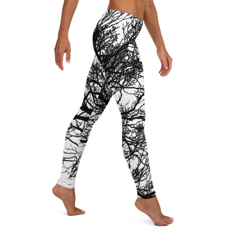 Tree Branch Leggings, Capris, Shorts-AcDrift