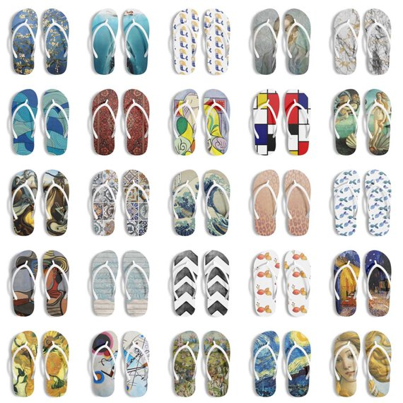 Flip Flops Men Bathroom Wear Shower Gift Beach-AcDrift