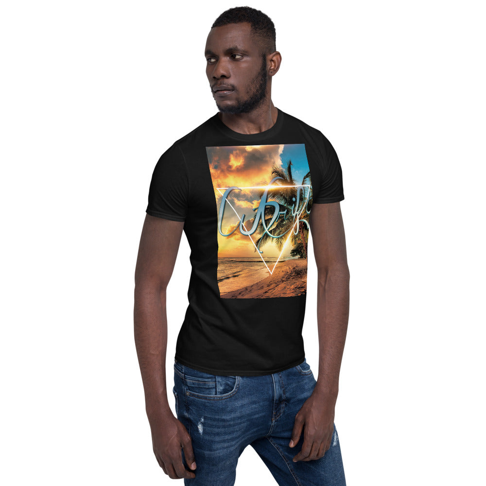 AcDrift Tropics Short-Sleeve Unisex T-Shirt-AcDrift