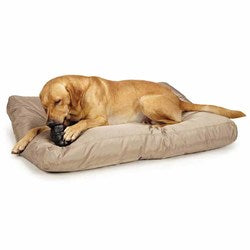Image of Slumber Pet MegaRuffs Dog Bed - Brown