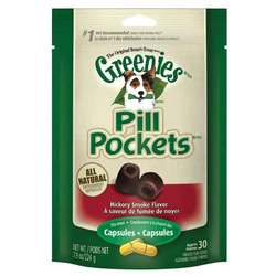 Greenies Canine Pill Pockets - Hickory Smoke