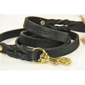 LOVE TO WALK - AUTHENTIC LEATHER DOG LEASH