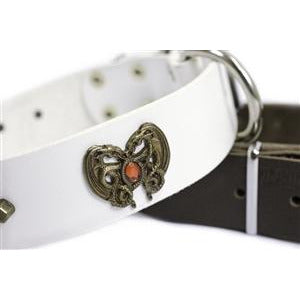 Image of DRAGON HEART - LEATHER DOG COLLAR