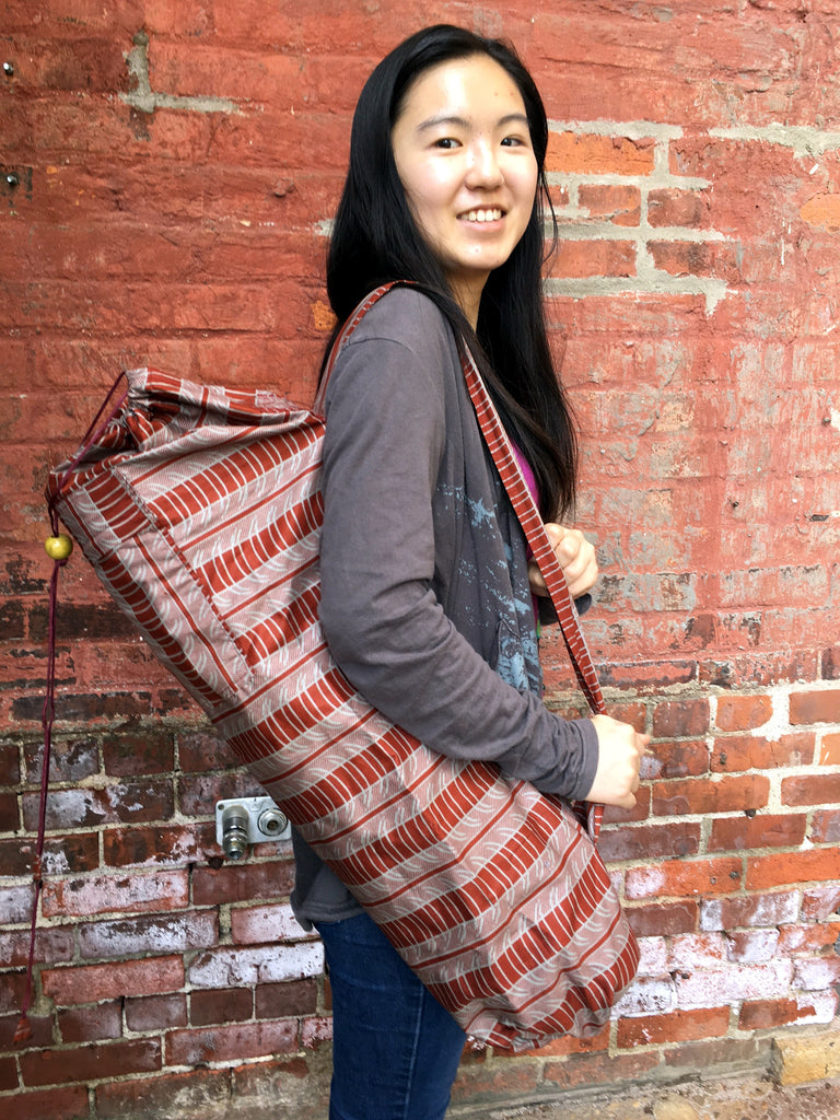 Fair Trade Yoga Bags in Store!