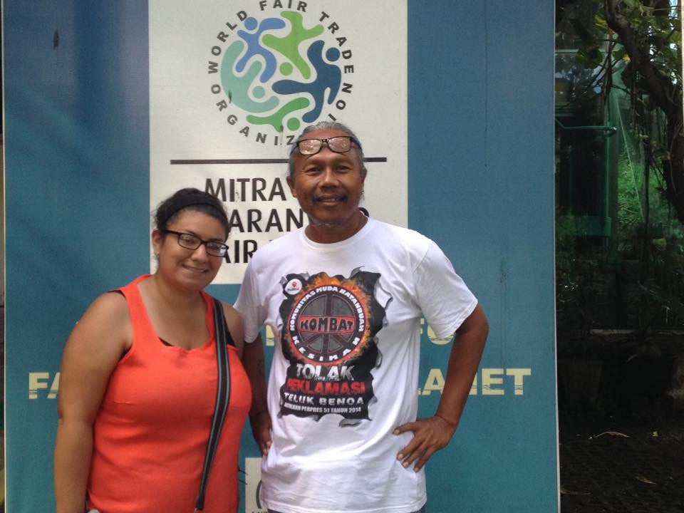 Vanessa Visits Mitra-Bali Fair Trade in Indonesia!