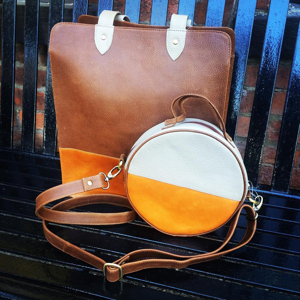 GLOBAL GIFTS: Leather Bags That Are Easy on the Earth