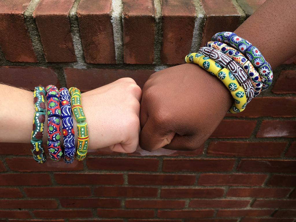 Fair Trade Glass Jewelry from Ghana: A Journey from Bottle to Bracelet
