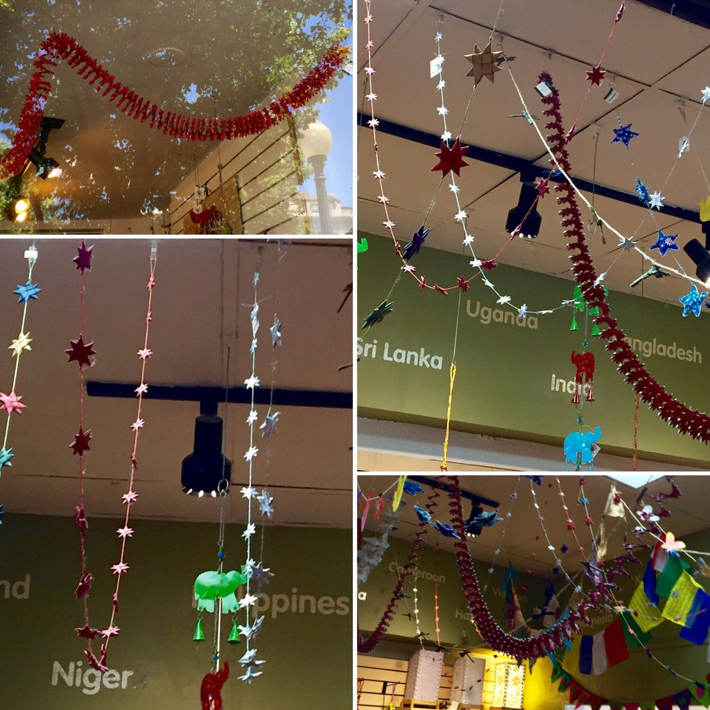 Hang Garlands at Your Independence Day Party!