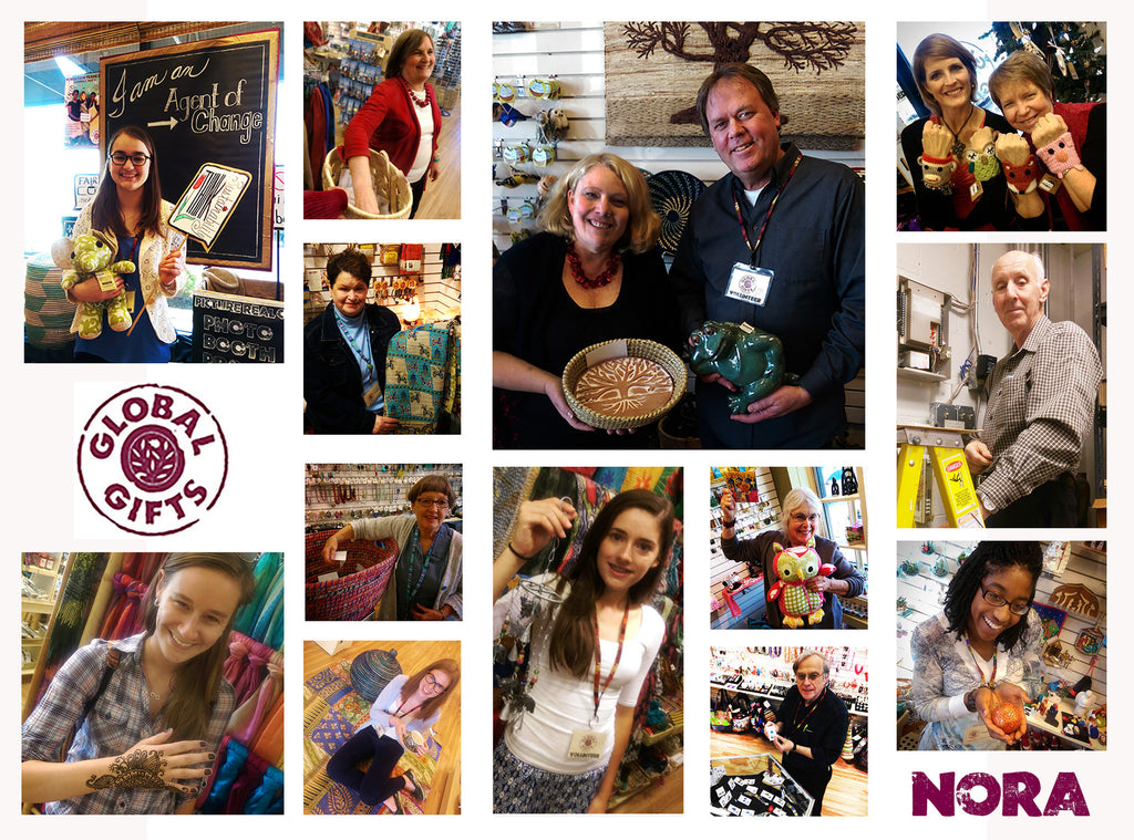 Global Gifts At Nora: Volunteers Make Our World Go 'Round!