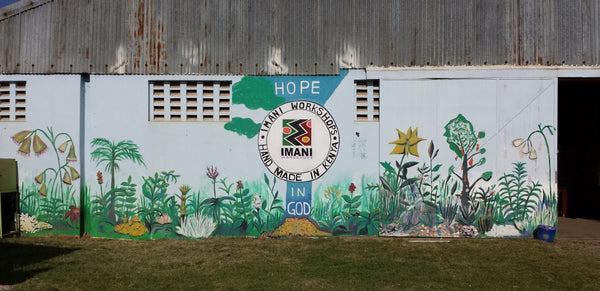 Mural Painted at Imani Workshops