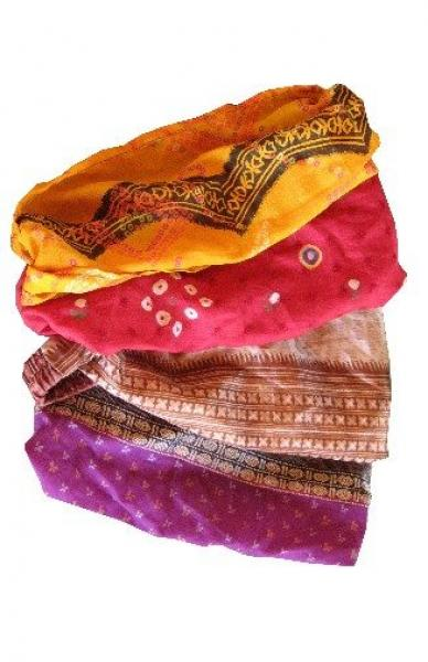 Recycled Silk Sari Headband