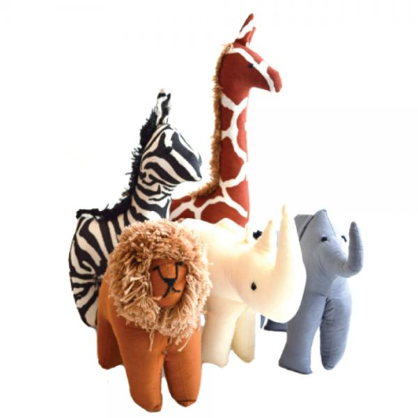 Stuffed Safari Animals Large