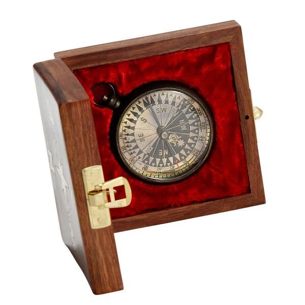 True North Compass in Box