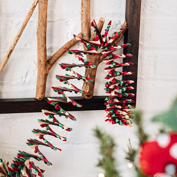 Holiday Palm Leaf Garland