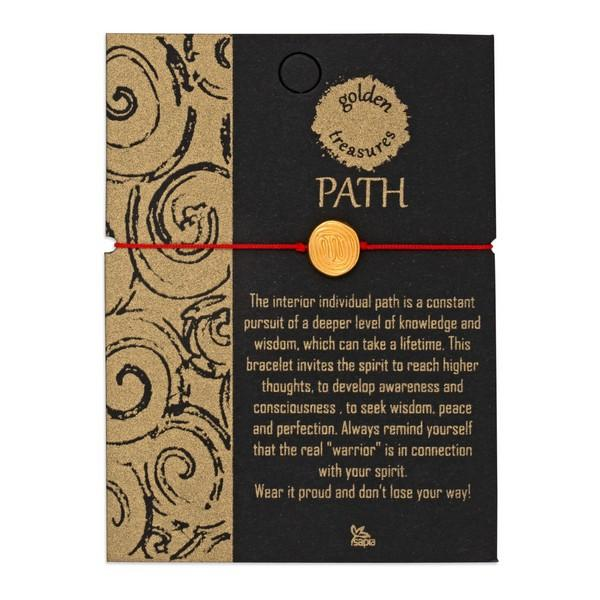 Path Medallion Bracelet on Card