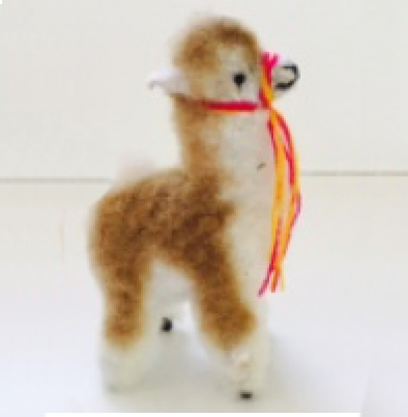 Vicuña Alpaca Stuffed Animal 8""
