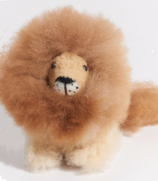 Little Lion Alpaca Stuffed Animal