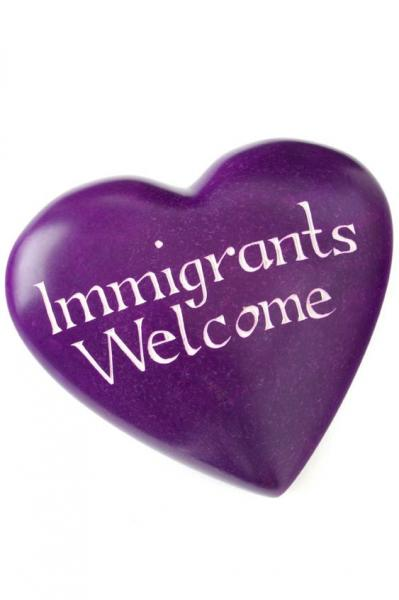 Wise Words Large Heart: Immigrants Welcome