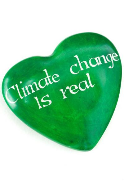 Wise Words Large Heart: Climate Change is Real