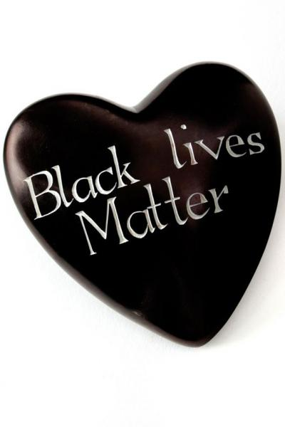 Wise Words Large Heart: Black Lives Matter