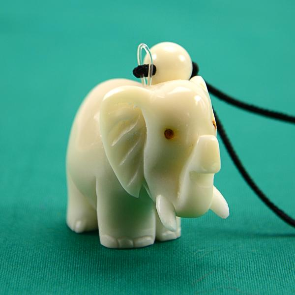 Carved Tagua Animal Ornament