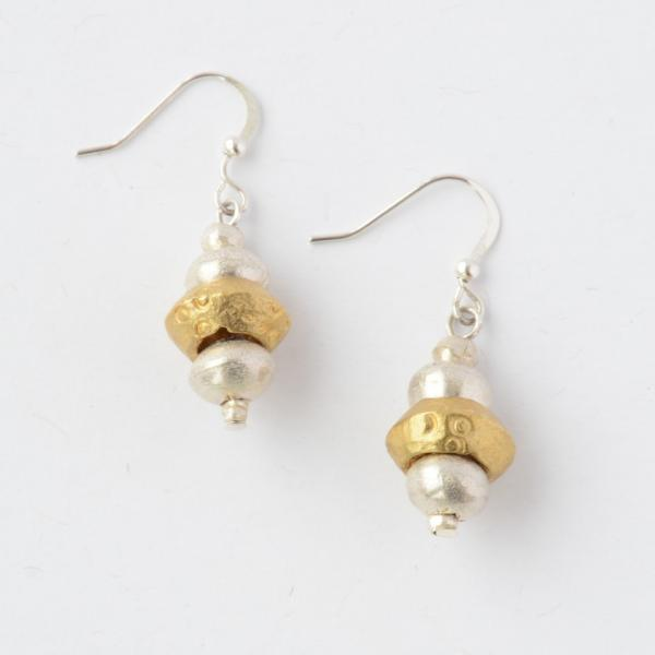 Burte Recycled Bullet Casing Earrings