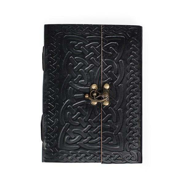 Intertwining Ideas Celtic Knotwork Leather Journal