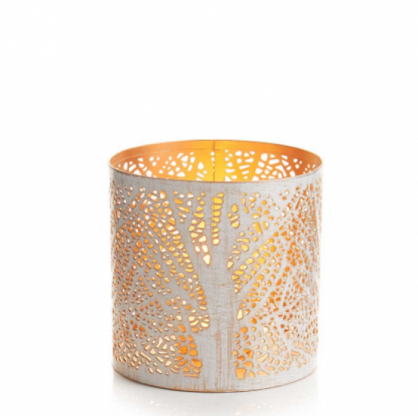 White Birch Lantern Small
