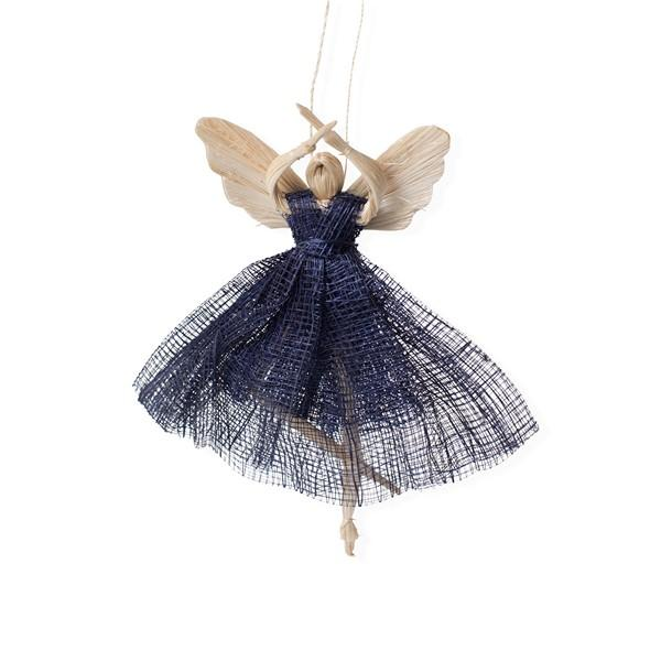 Blue Ballerina Angel Ornament