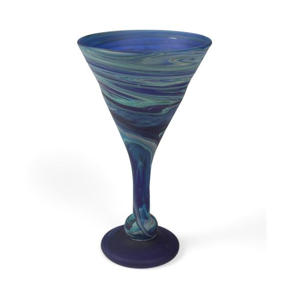 Phoenician Blue Cocktail Goblet
