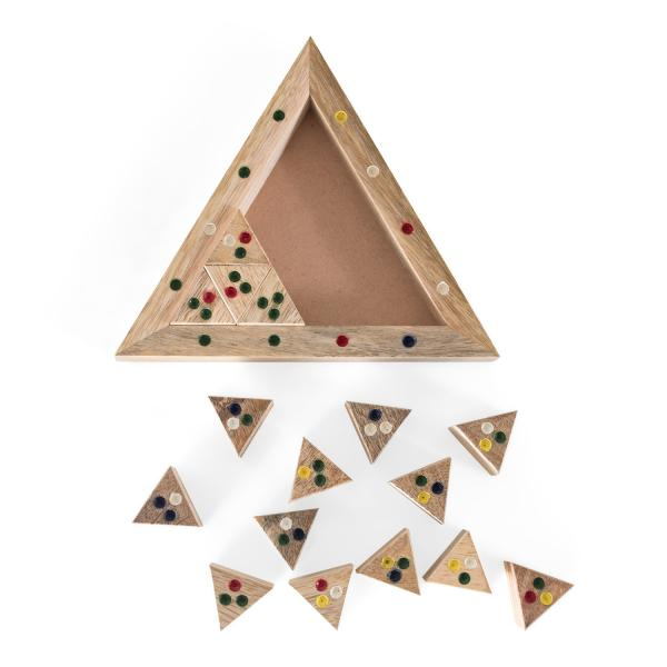 Triangle Puzzle Game