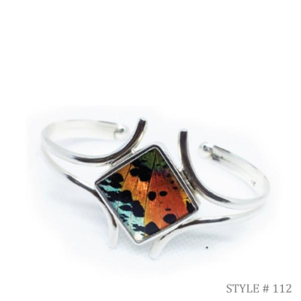 Butterfly Wing Embracing Wing Cuff
